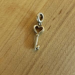 Authentic Chamilia Charm - Key to Love